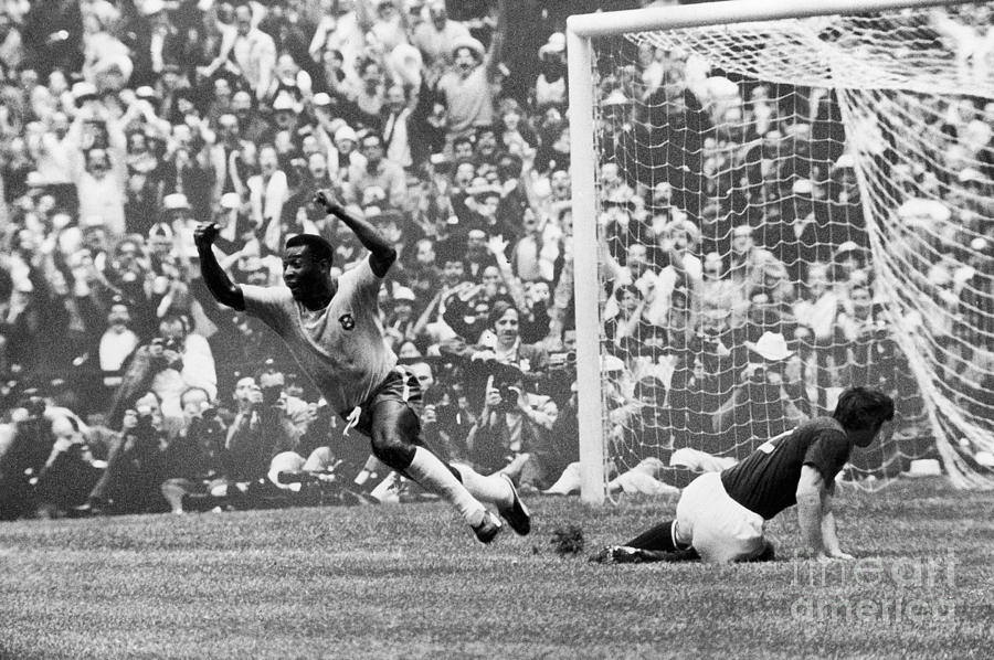 Soccer: World Cup, 1970 Photograph