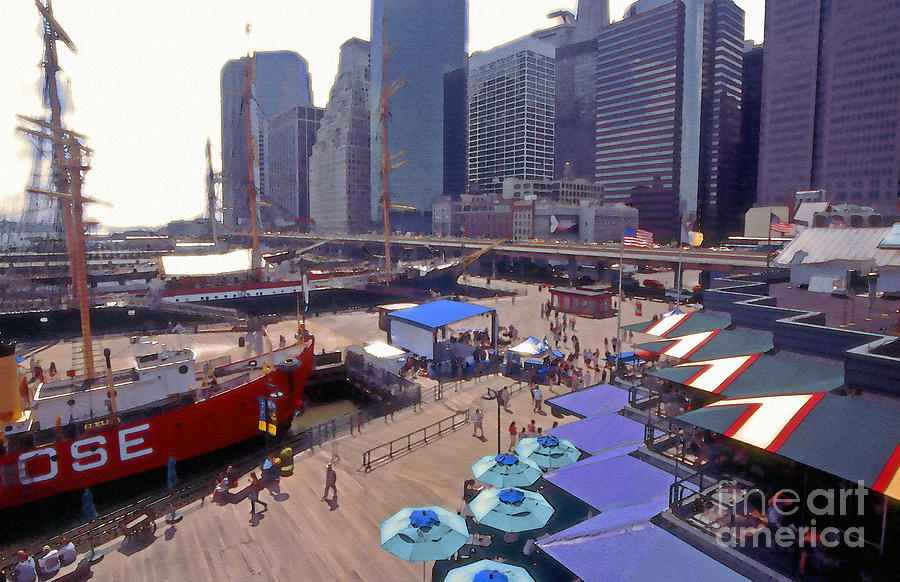 South Street Seaport Photograph