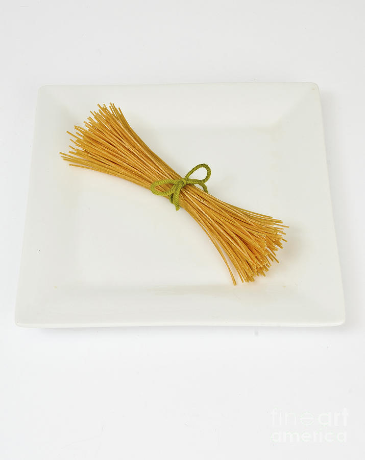 Soybean Spaghetti Photograph