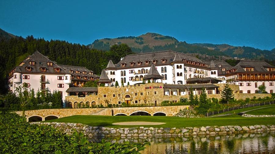 Europe Photograph - Spa Resort A-rosa - Kitzbuehel by Juergen Weiss