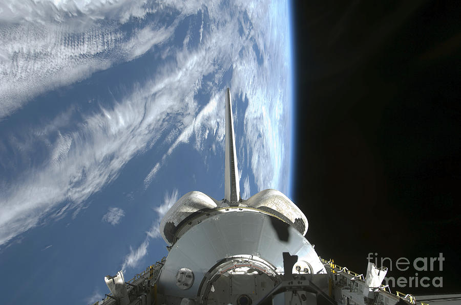 Space Shuttle Endeavours Payload Bay Photograph