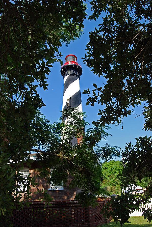 St Augustine Lighthouse Photograph