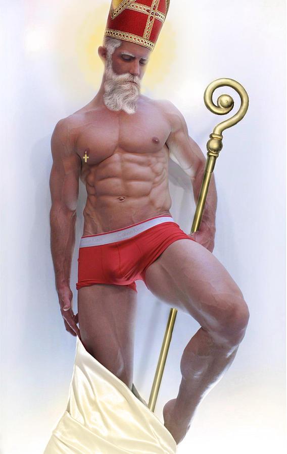St Nicholas Photograph - St Nicholas by John Clum