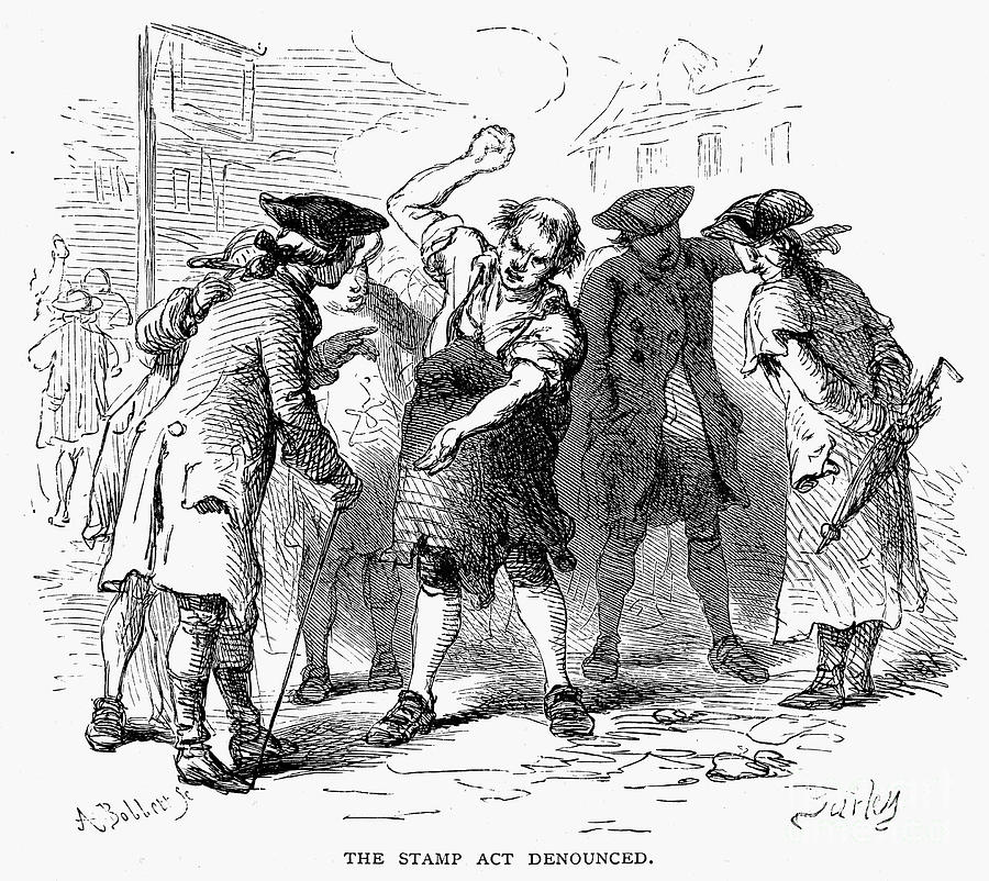 Stamp act 1765 is a photograph by granger which was uploaded on july