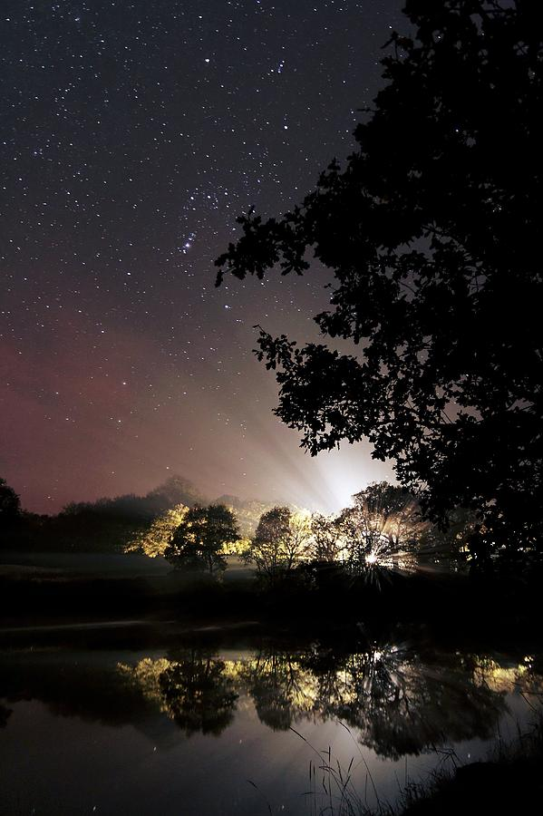 Odet Photograph - Starry Night by Laurent Laveder