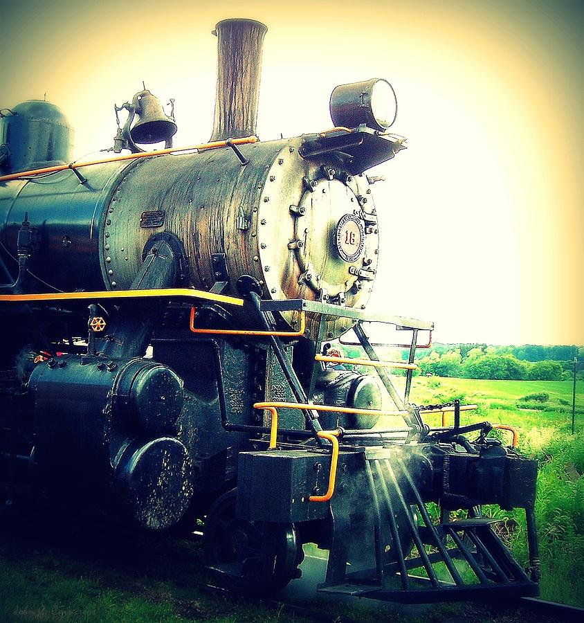 Steam Engine 18 Photograph  - Steam Engine 18 Fine Art Print