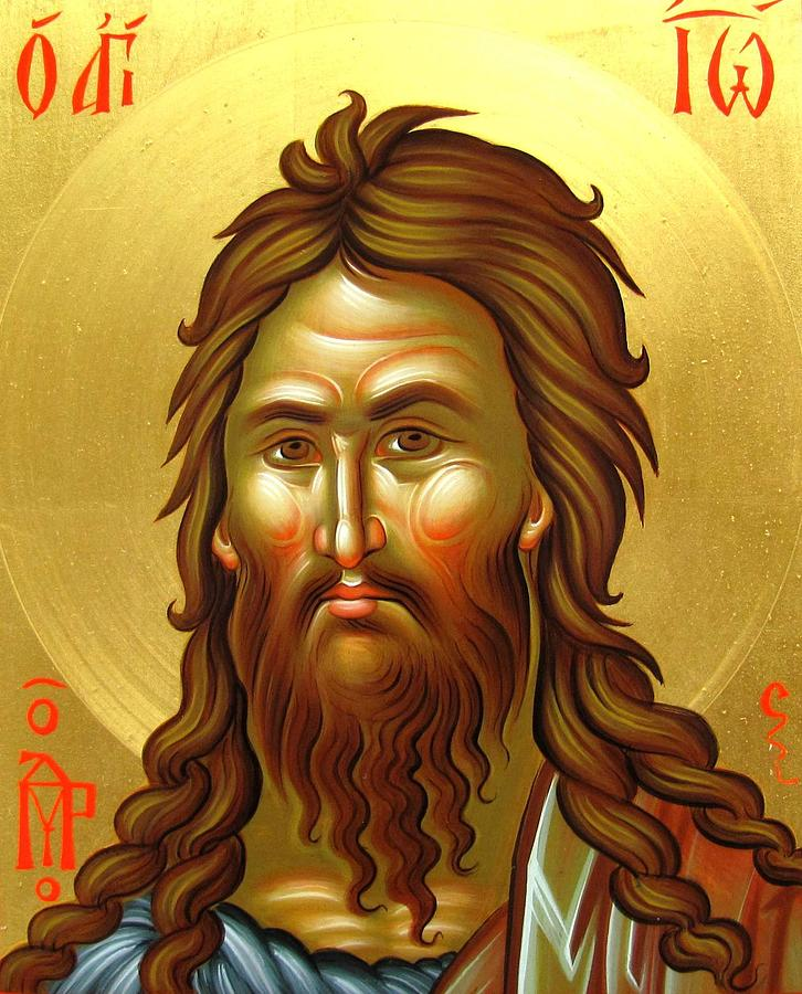 St.john The Baptist Painting