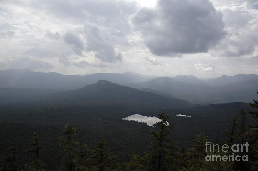 Storm Clouds - White Mountains Nh Usa Photograph