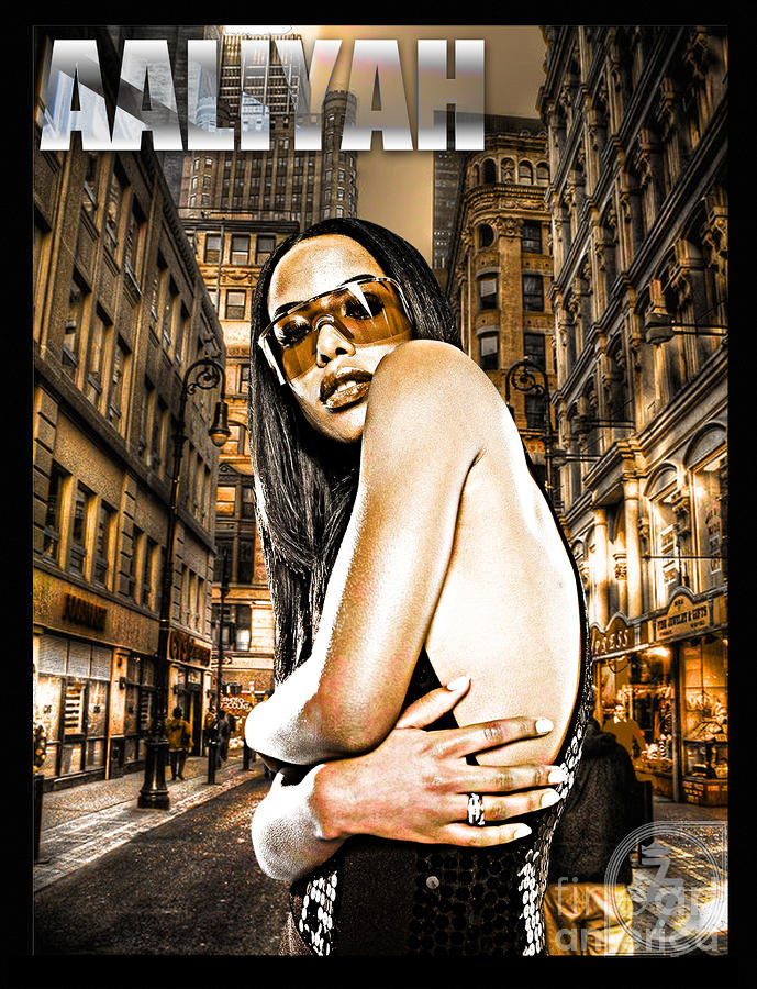 Street Phenomenon Aaliyah Digital Art