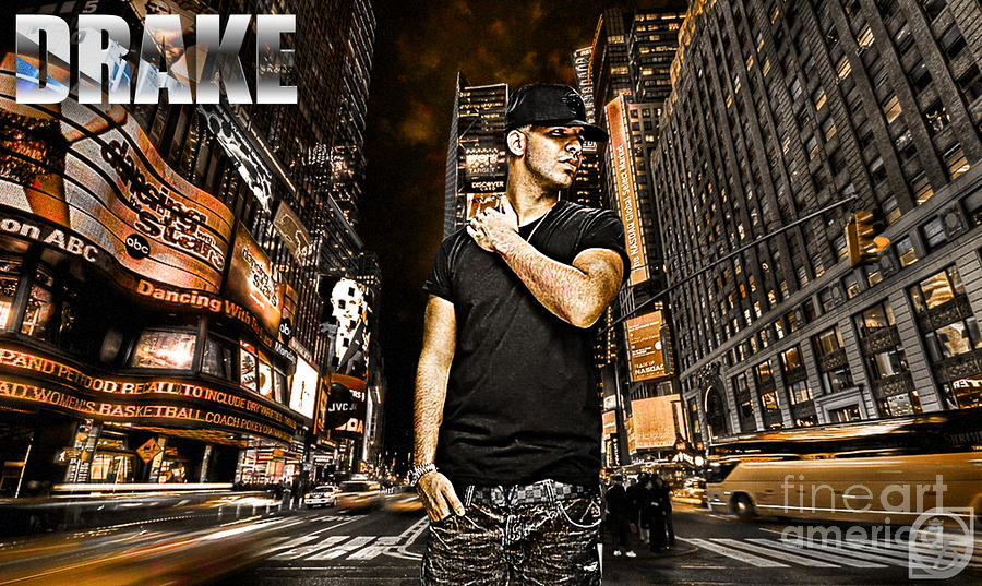 Street Phenomenon Drake Digital Art
