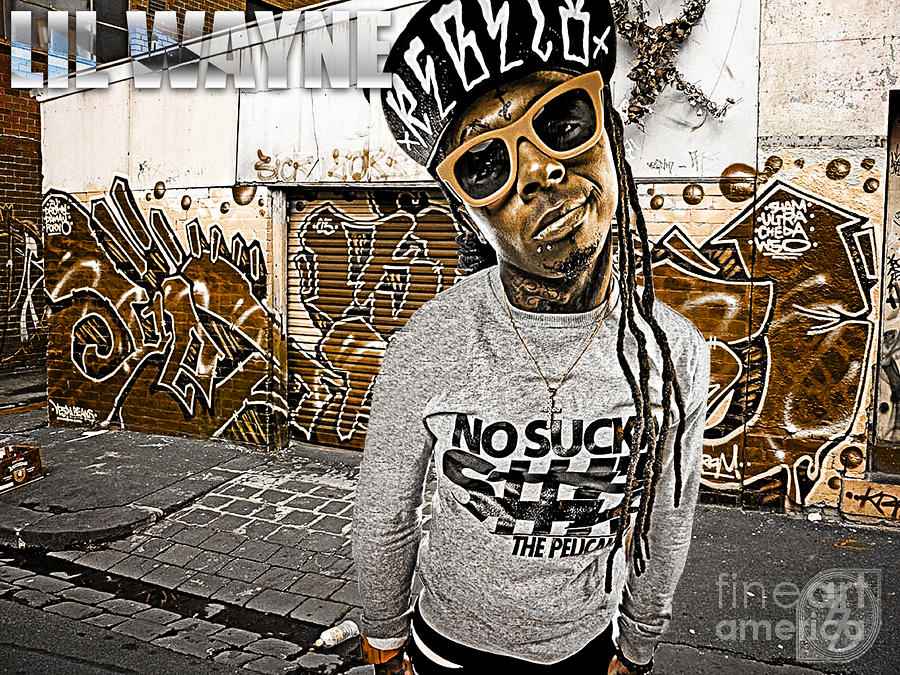 Street Phenomenon Lil Wayne Digital Art  - Street Phenomenon Lil Wayne Fine Art Print