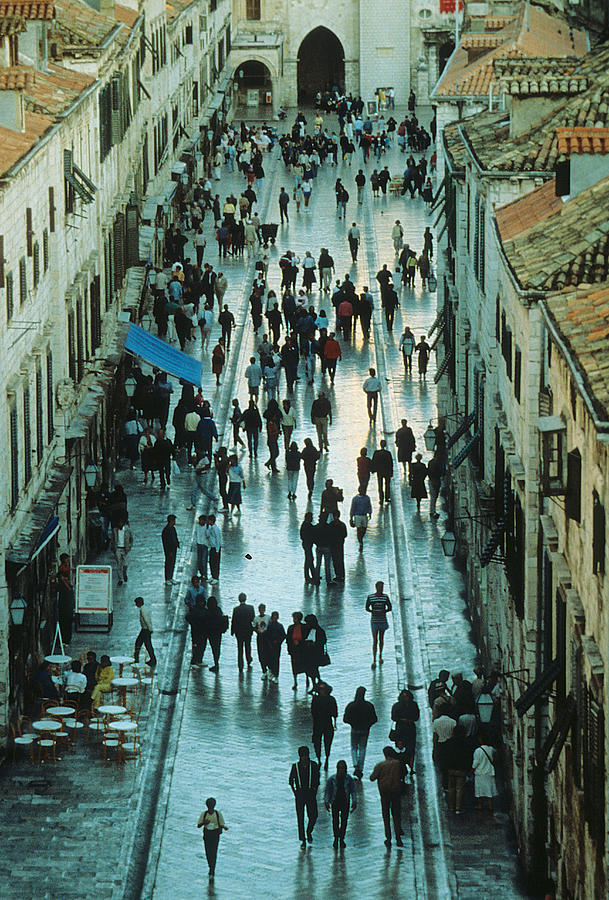 Streets Of Dubrovnik Photograph  - Streets Of Dubrovnik Fine Art Print