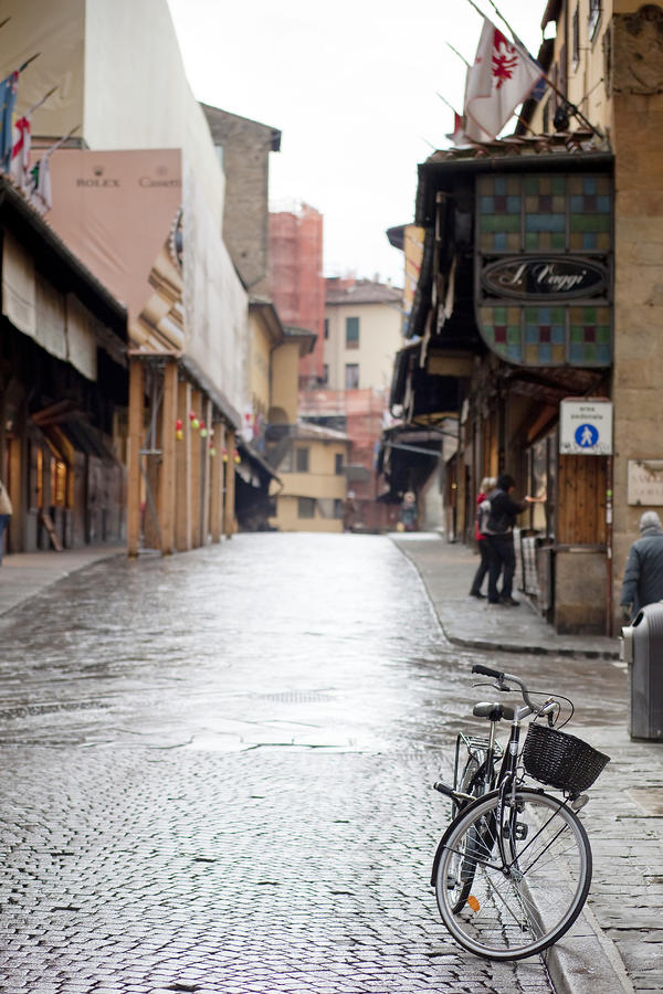 Streets Of Florence Photograph