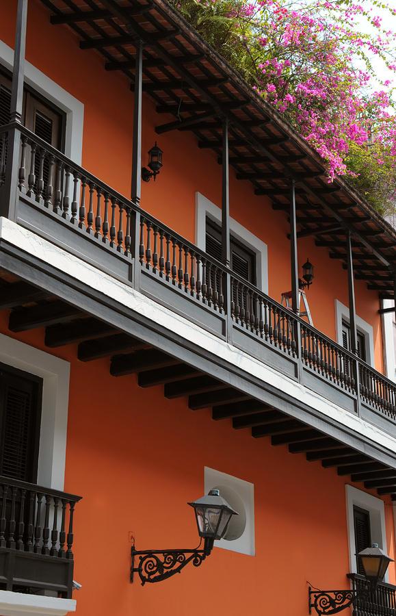 Streets Of Old San Juan Photograph