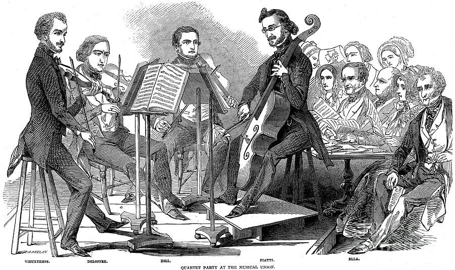 String Quartet, 1846 Photograph