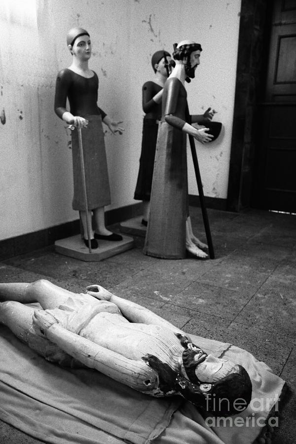 Iconography Photograph - Stripped Saints by Gaspar Avila