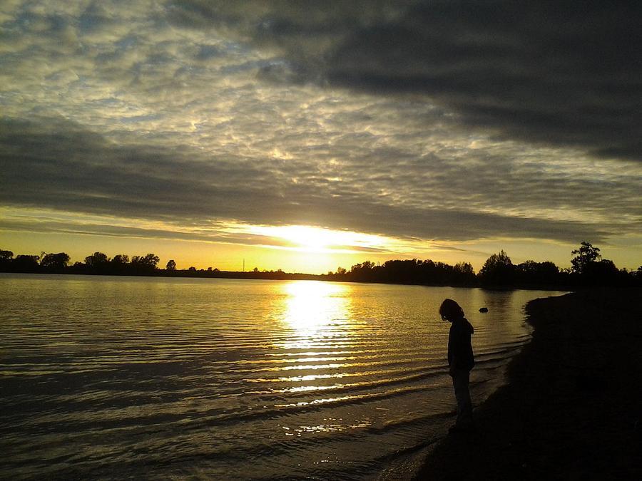 Sun Set Photograph