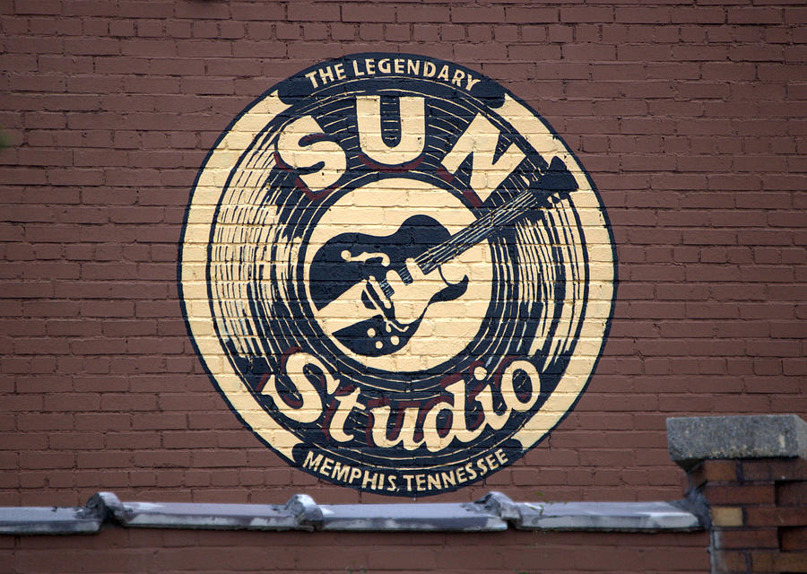Sun Studio Memphis Tennessee Photograph