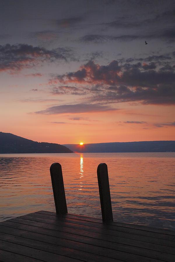 Sunrise Over Keuka V Photograph