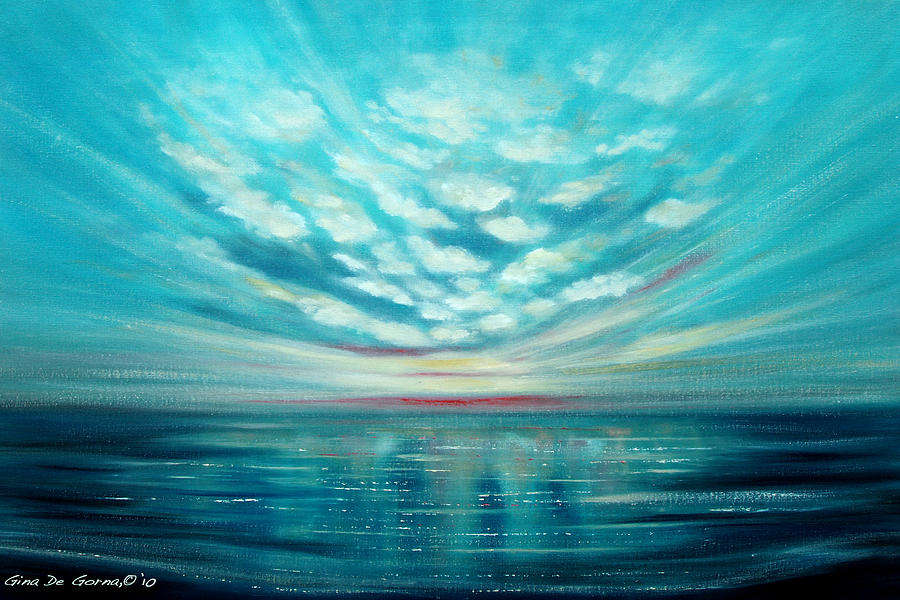 Sunset Quest Painting  - Sunset Quest Fine Art Print