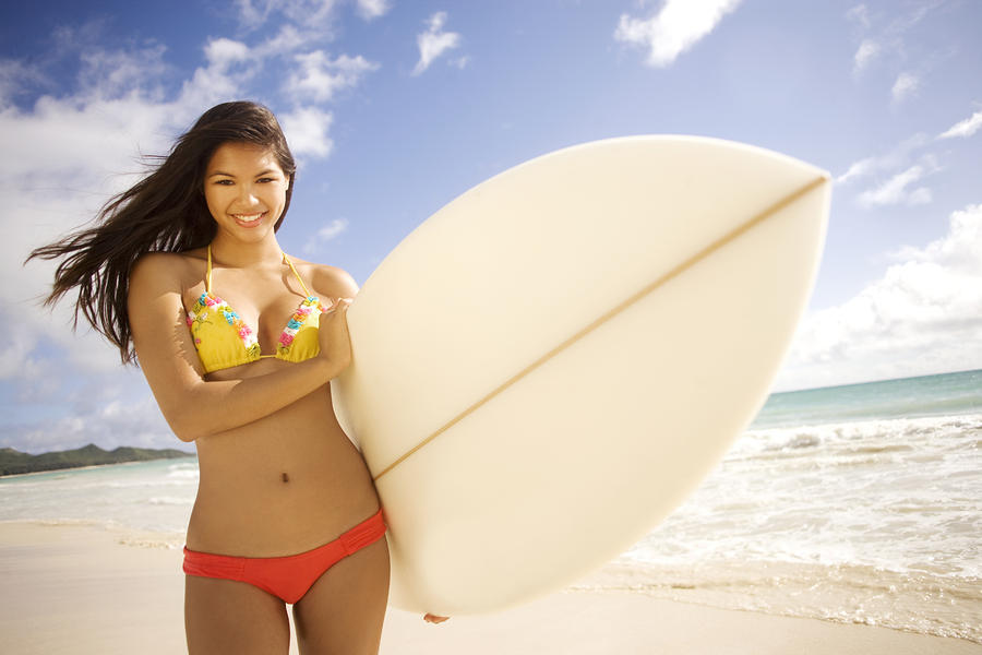 Surfer Girl Photograph