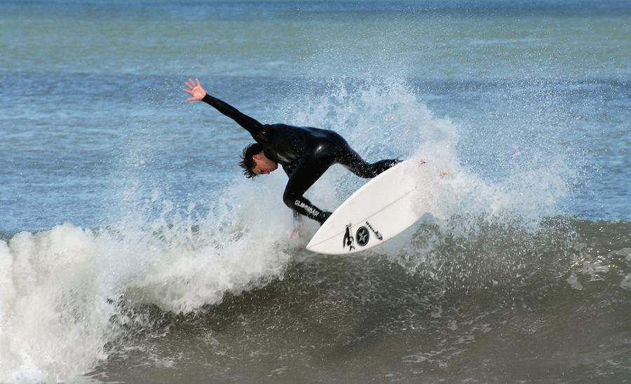 Surfing 395 Photograph