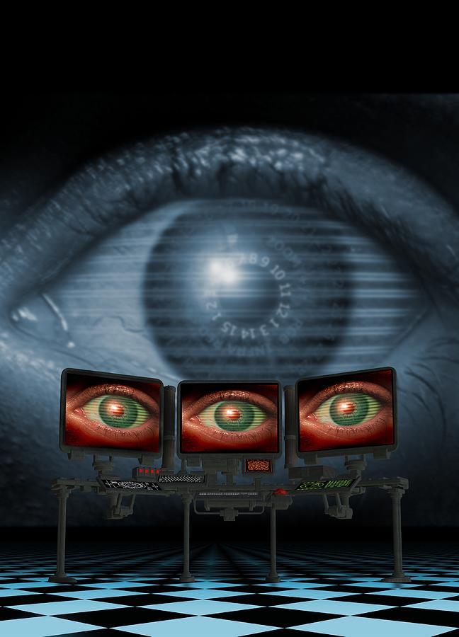 Surveillance, Conceptual Image Photograph