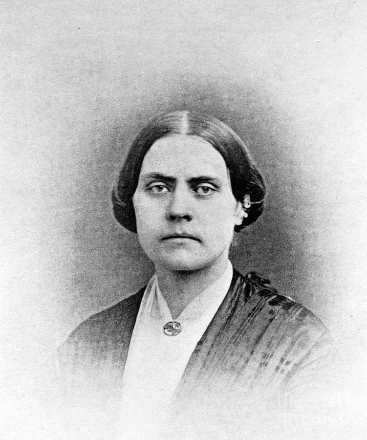 Susan B. Anthony, American Civil Rights Photograph  - Susan B. Anthony, American Civil Rights Fine Art Print