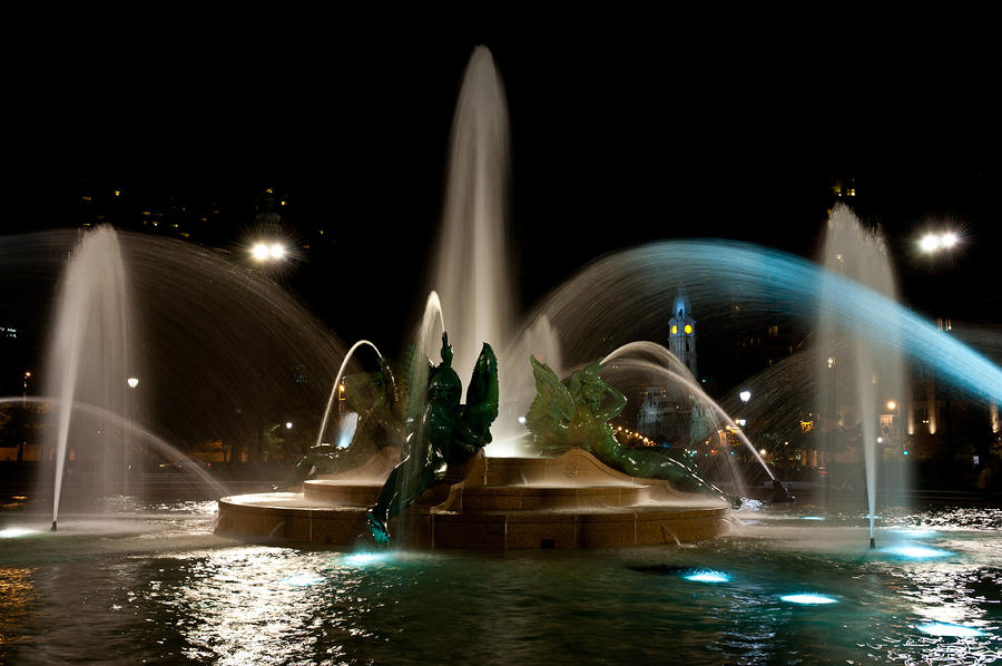 Swann Memorial Fountain Photograph  - Swann Memorial Fountain Fine Art Print