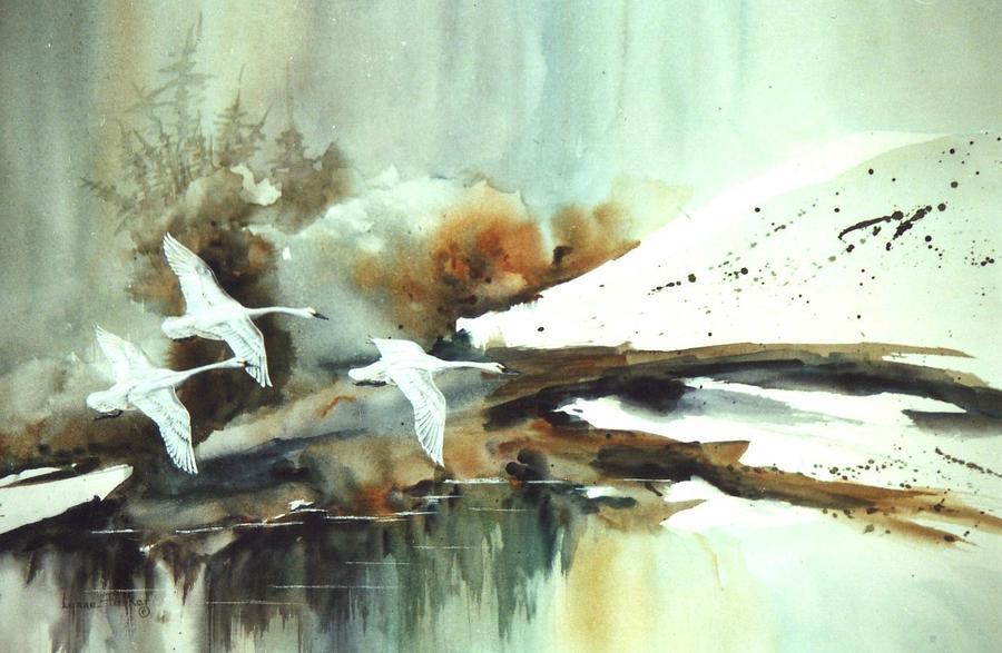 Realistic Oil Paintings begun in   Howard David Johnson