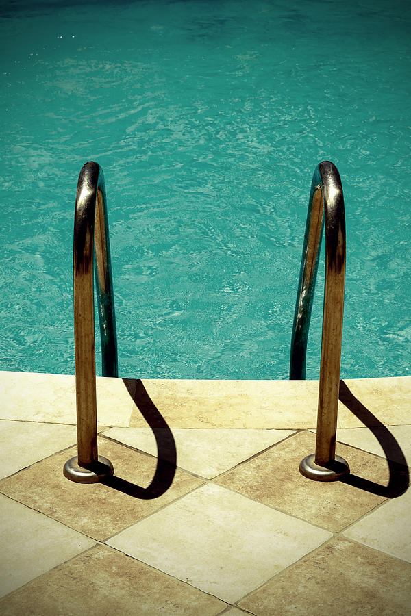Swimming Pool Photograph  - Swimming Pool Fine Art Print