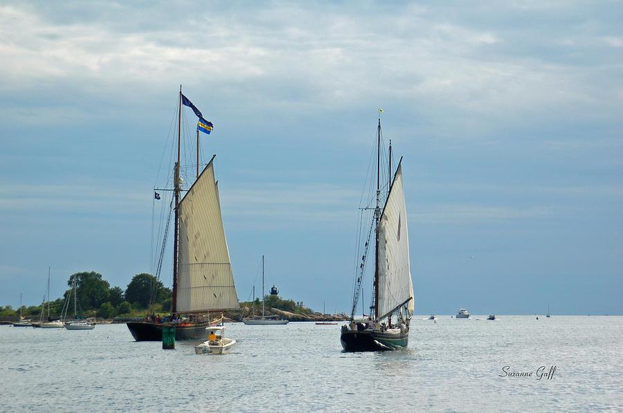 Tall Ships Sailing I Photograph