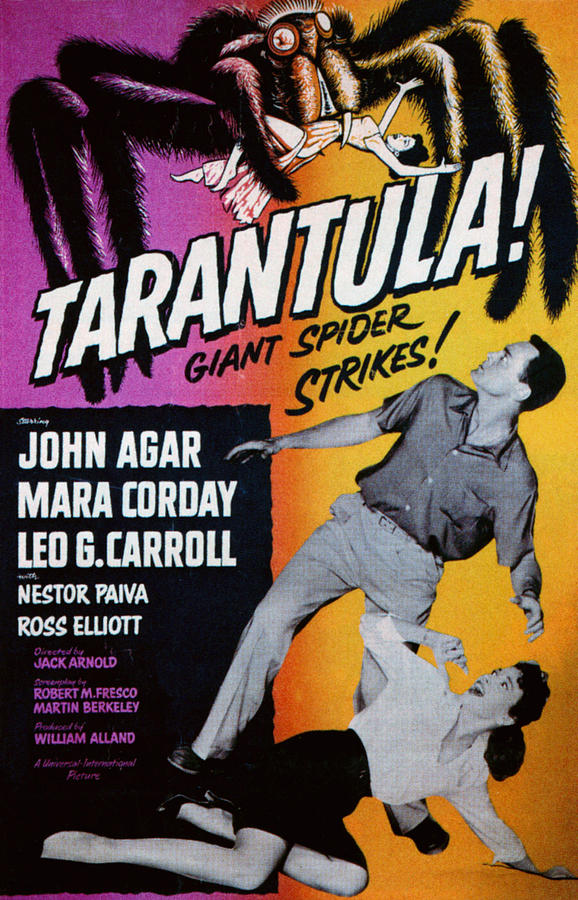1950s Poster Art Photograph - Tarantula, John Agar, Mara Corday, 1955 by Everett
