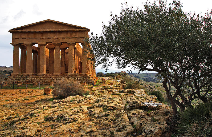 Temple Of Concordia Photograph  - Temple Of Concordia Fine Art Print