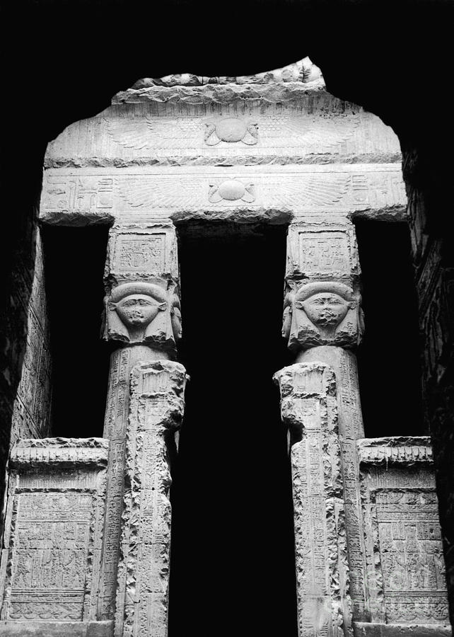 Temple Of Hathor Photograph