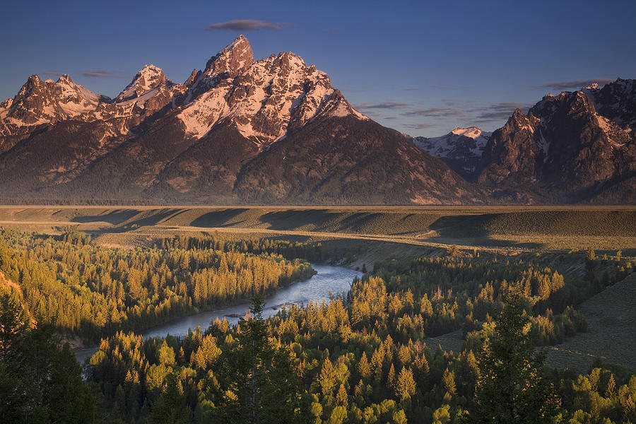 Teton Morning Photograph  - Teton Morning Fine Art Print
