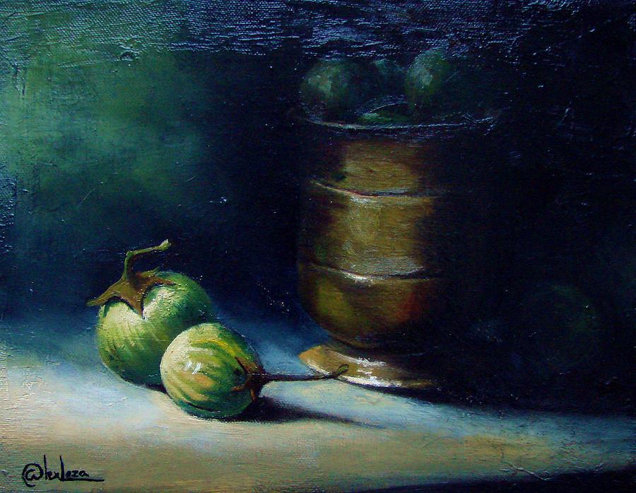 Thai Eggplants Painting