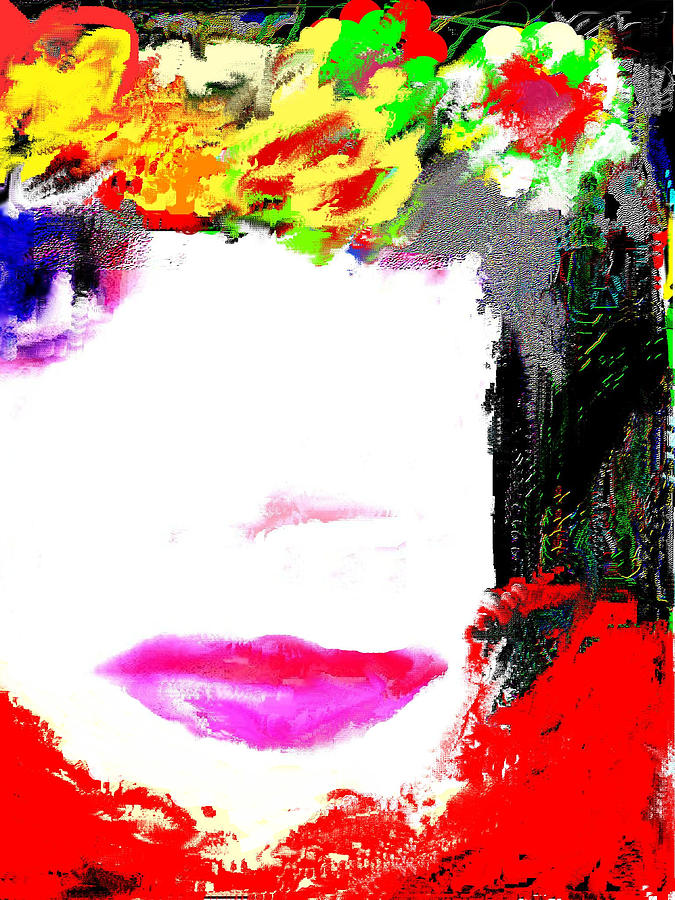 That Girl Digital Art  - That Girl Fine Art Print