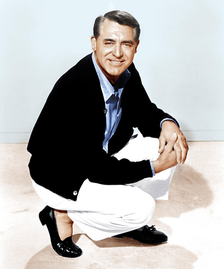 1960s Portraits Photograph - That Touch Of Mink, Cary Grant, 1962 by Everett