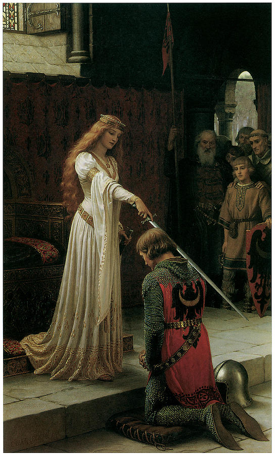 The Accolade Painting  - The Accolade Fine Art Print