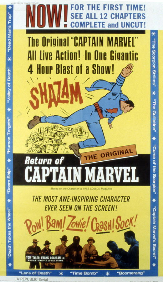 The Adventures Of Captain Marvel, Tom Photograph
