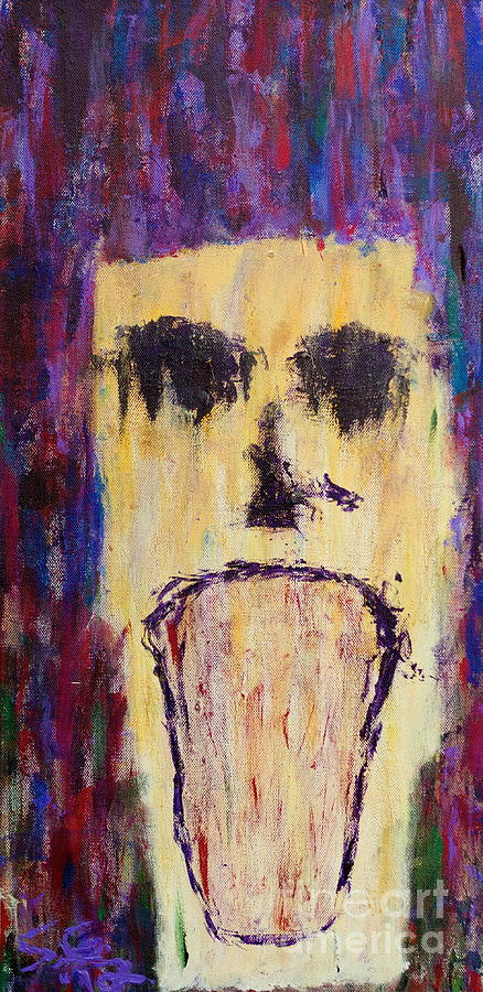 The Anguish That Befalls Me Painting