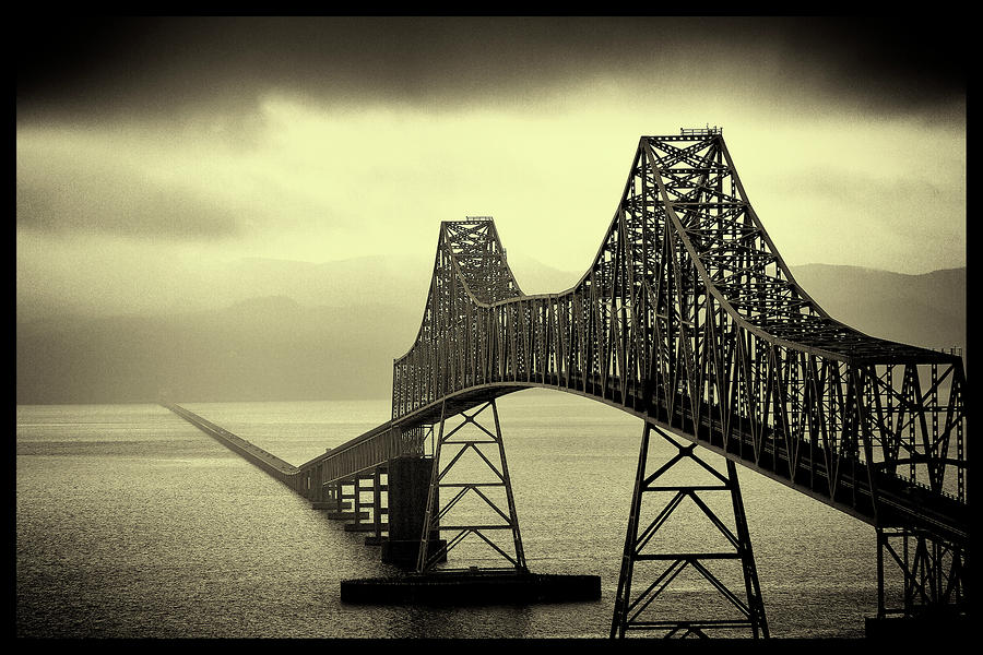 The Astoria Bridge Photograph  - The Astoria Bridge Fine Art Print