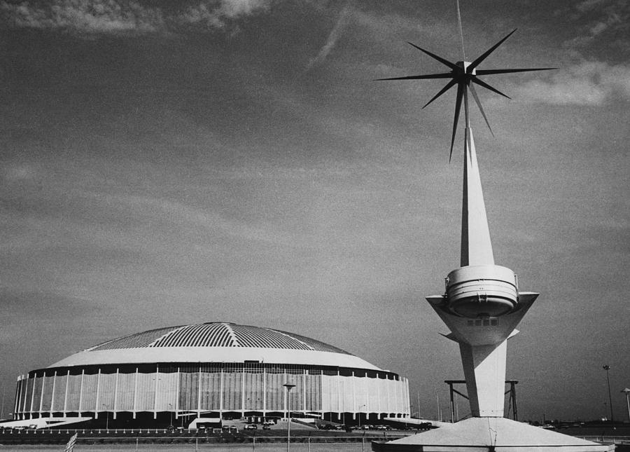 The Astrodome Aka The Eighth Wonder Photograph