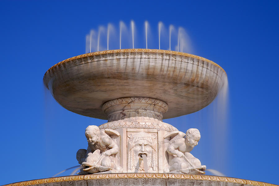 The Belle Isle Scott Fountain Photograph  - The Belle Isle Scott Fountain Fine Art Print