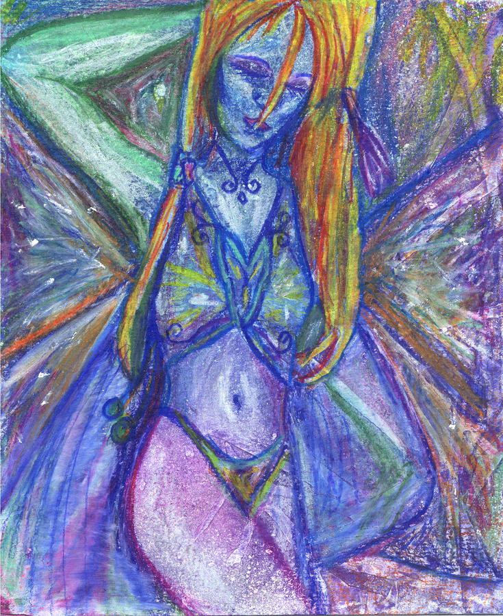 The Belly Dancer Mixed Media  - The Belly Dancer Fine Art Print