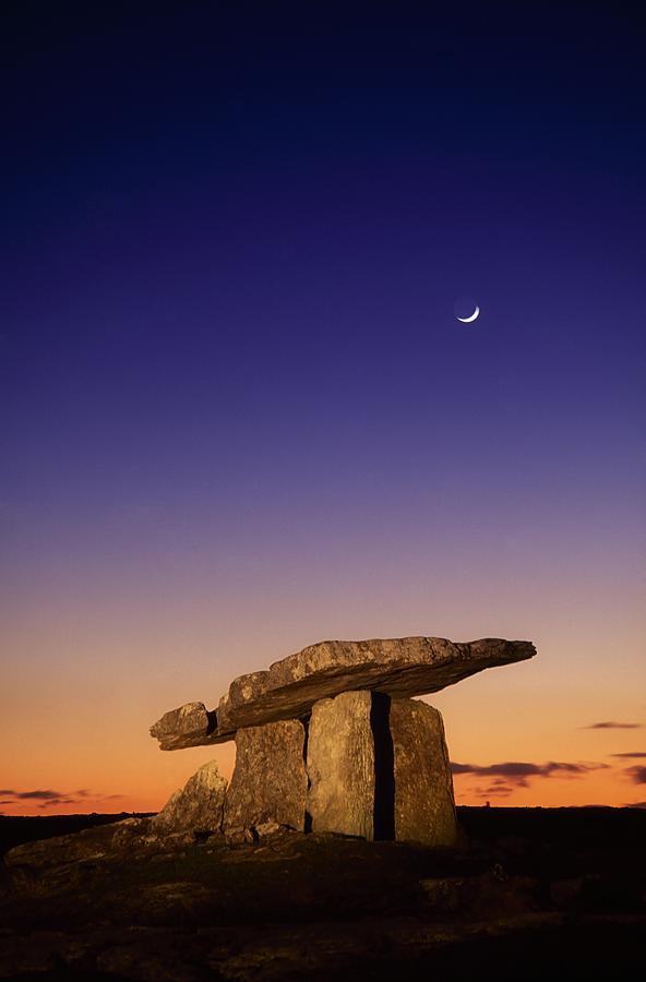 Sunset Photograph - The Burren, County Clare, Ireland by Richard Cummins