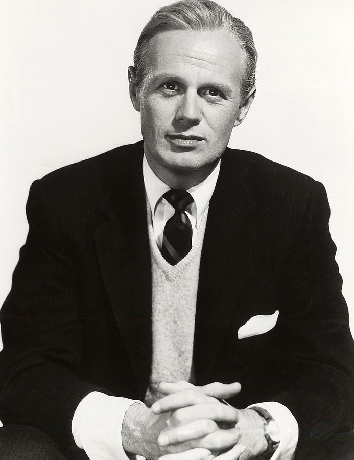 1950s Portraits Photograph - The Cobweb, Richard Widmark, 1955 by Everett