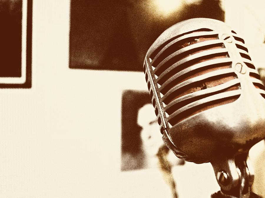 The Elvis Mic Photograph  - The Elvis Mic Fine Art Print