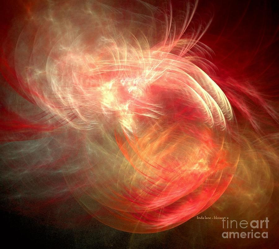 The Fire Inside Digital Art